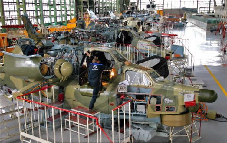 Ростовский вертолетный завод «Роствертол» заменил украинские двигатели отечественными