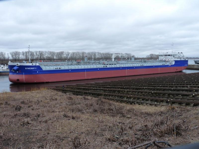 Спущен на воду танкер проекта RST-27 «Балт Флот 11»