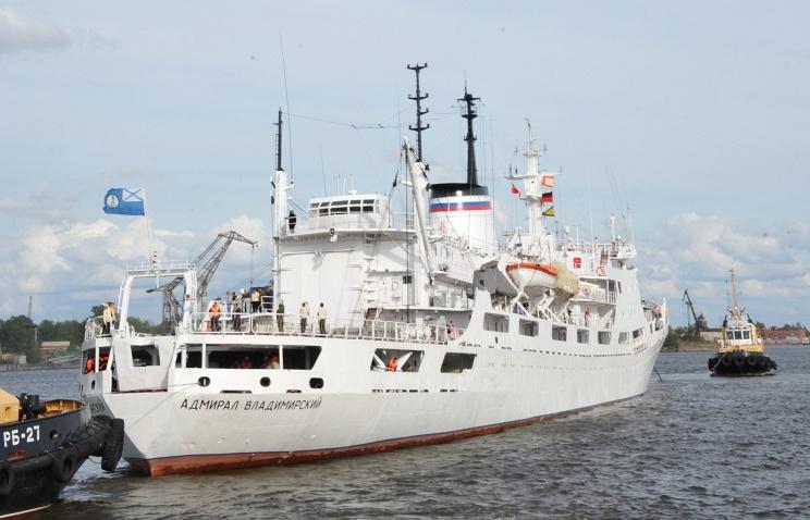 Судно Адмирал Владимирский завершило 4-х месячную Антарктическую экспедицию