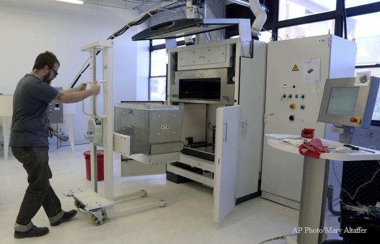 Ученые Томского государственного университета создали 3-D принтер, печатающий керамические изделия