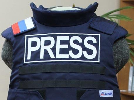 В «НИИ стали» разработали новый бронежилет для журналистов