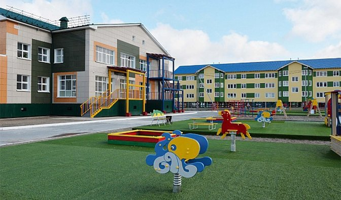 В Ямало-Ненецком АО открыт детский сад на 120 мест