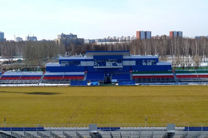 В республике Татарстан после реконструкции открылся футбольный стадион КамАЗ