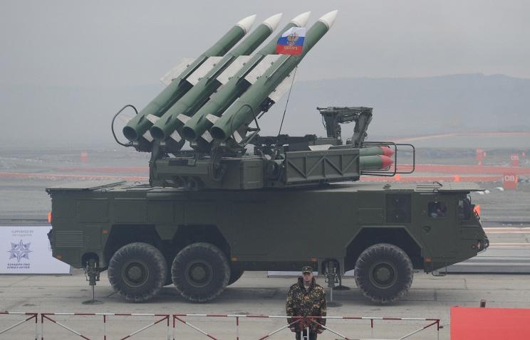 В войска Забайкальского края поступили зенитные ракетные комплексы Бук-М2