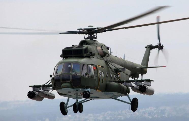 Вертолеты России передали Анголе очередные четыре вертолета Ми-171Ш