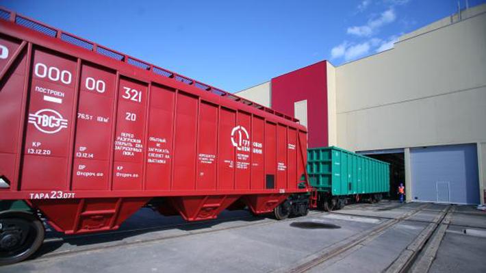 Выпуск грузовых вагонов в России в январе-феврале вырос на 13,1%