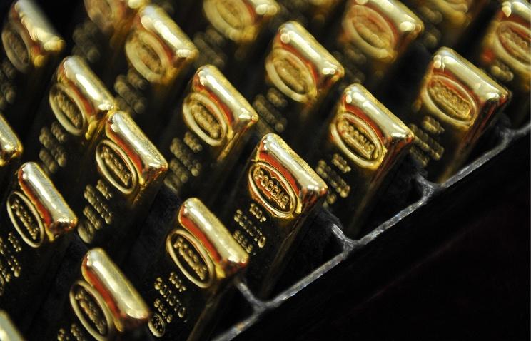 Золотой запас России за февраль увеличился на 9,3 тонны