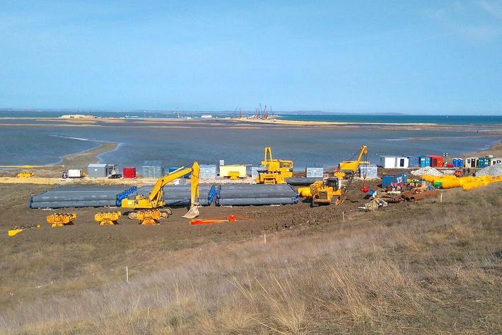 газопровод в Крым