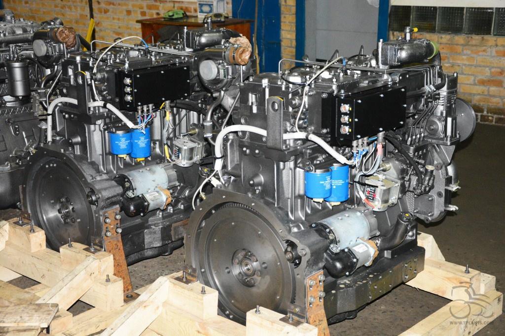 Алтайский моторный завод выпустил новый тракторный двигатель