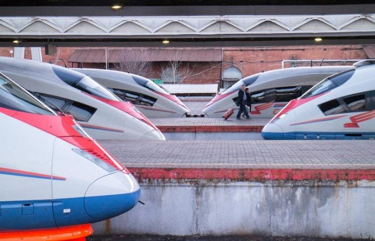 Число поездов Сапсан, курсирующих между Москвой и Санкт-Петербургом, возрастет до 12 пар
