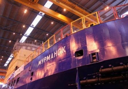 Ледоколы «Мурманск» и «Владивосток» вышли из Санкт-Петербурга и направились Арктику для прохождения ледовых испытаний