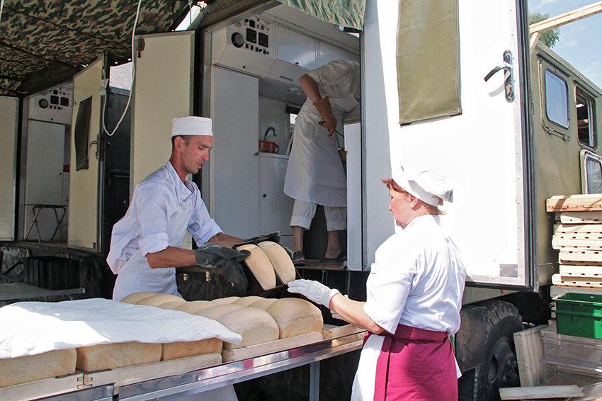 Министерство обороны РФ развернет в Сирии передвижной хлебозавод