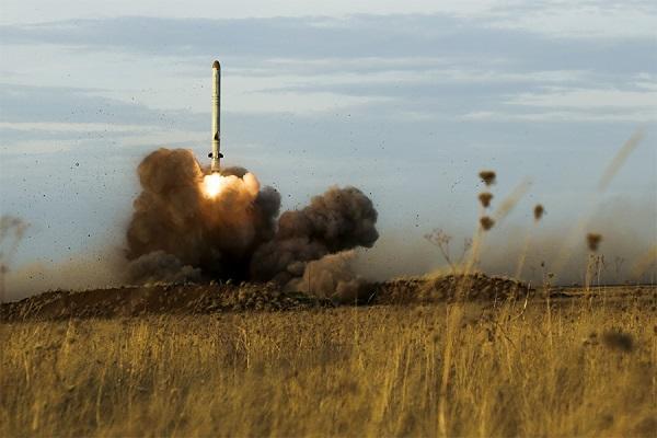 Министерство обороны провело пуск крылатой ракеты «Искандер-М»
