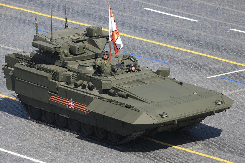 Министерство обороны заключило договор на поставку БМП Т-15 на платформе Армата