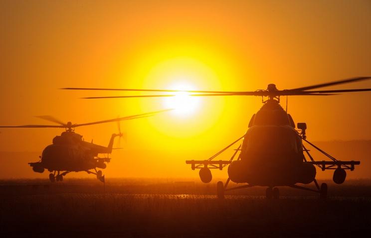 Минобороны получило два вертолета с новейшей системой активных помех Рычаг-АВ