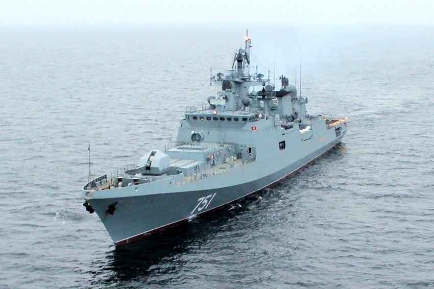На Северном флоте успешно завершились государственные испытания фрегата Адмирал Эссен