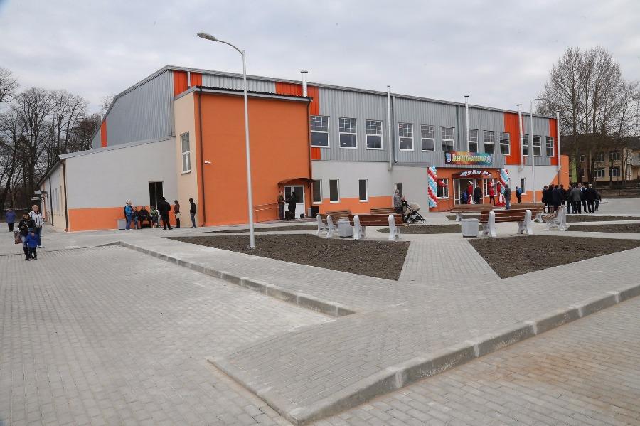 Новый физкультурно-оздоровительный комплекс открыт в Калининградской области