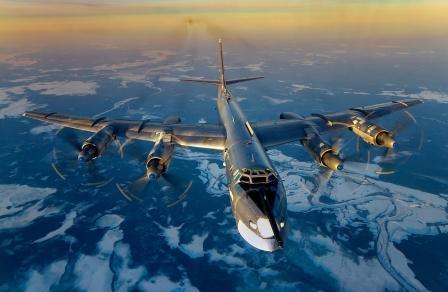 Обновленный стратегический бомбардировщик Ту-95МС передан ВКС РФ