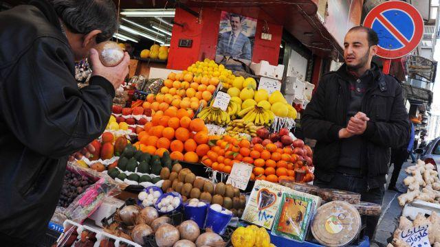Первая партия фруктов из Сирии прибыла в Россию