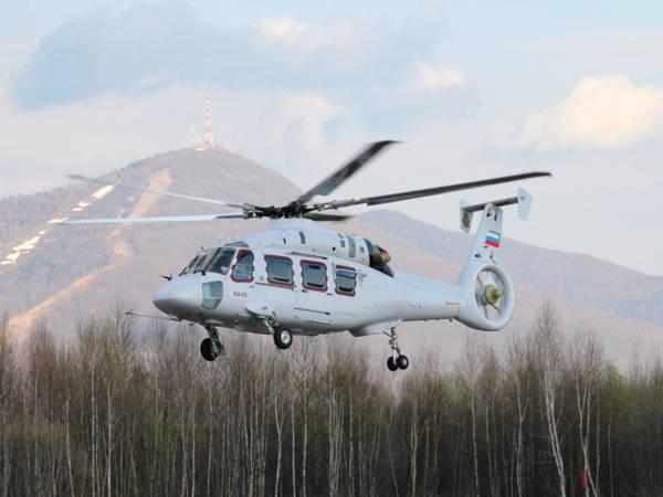 Первый опытный образец вертолета Ка-62 успешно прошел начальные заводские летные испытания