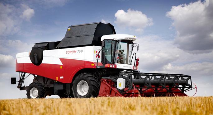 Российские комбайны RSM 161 TORUM закупаются немецкими фермерами