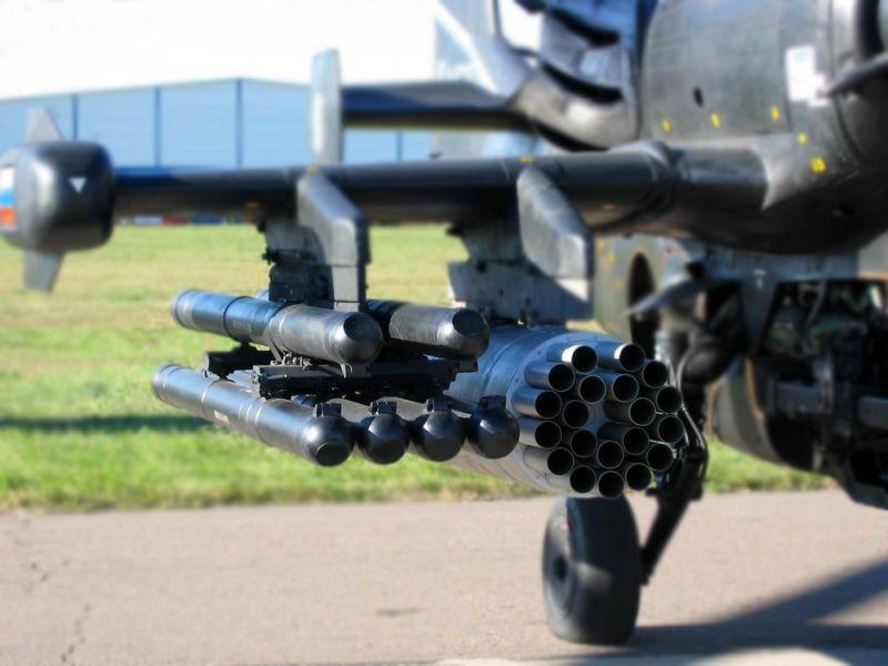 Российские военные получили новые управляемые ракеты «Вихрь-1»