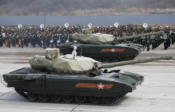 Танки Армата проходят войсковые испытания - последний этап перед принятием на вооружение