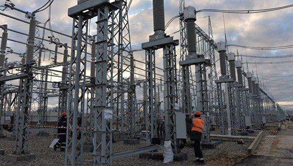 Третья нитка энергомоста в Крым на 200 МВт введена в эксплуатацию