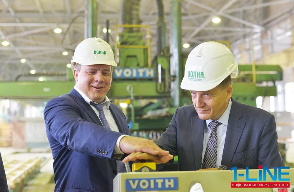 В Красноярском крае на заводе Волна запущена модернизированная технологическая линия