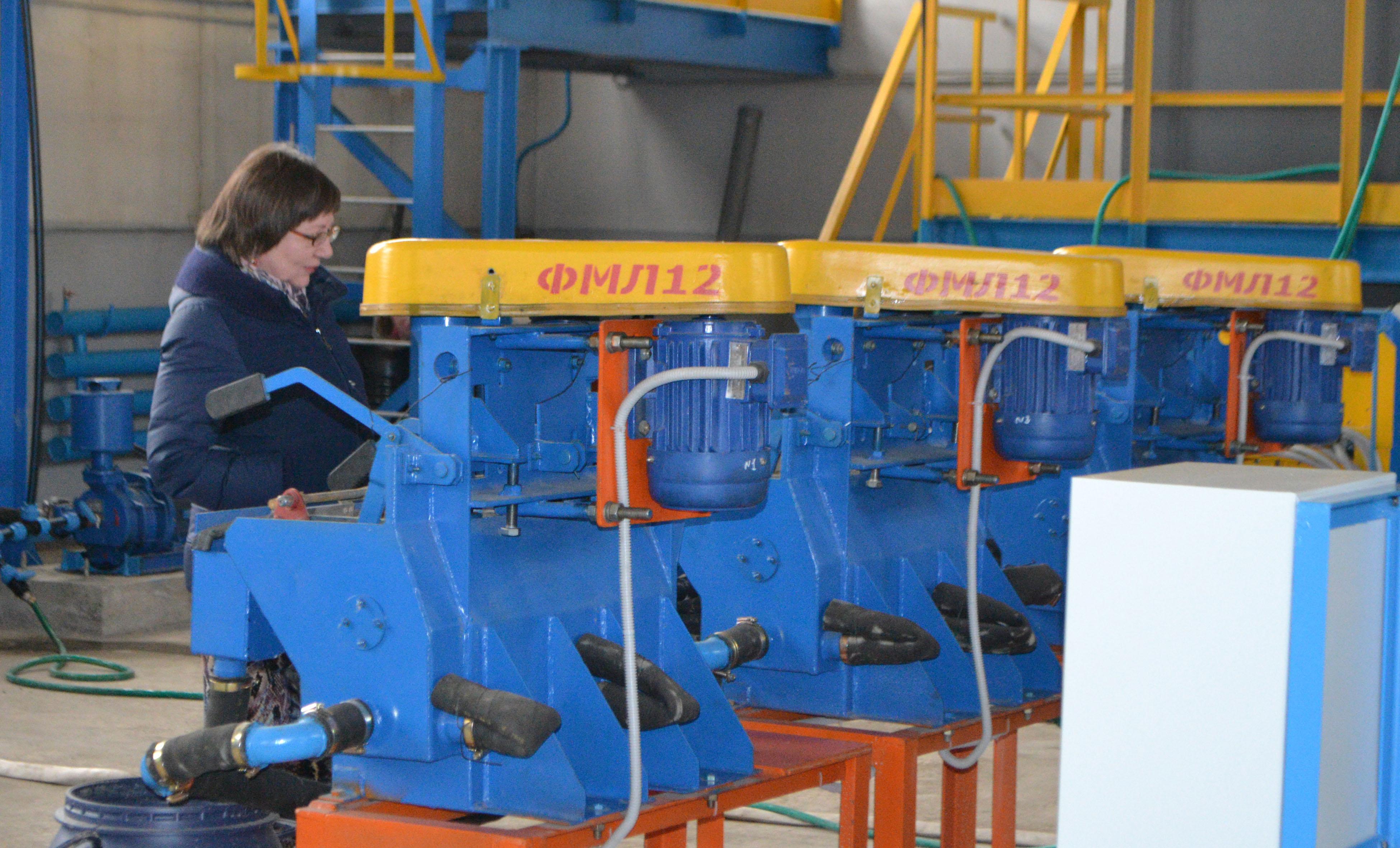 В Красноярском крае открыт опытно-промышленный участок для разработки и испытаний технологии переработки полиметаллических руд