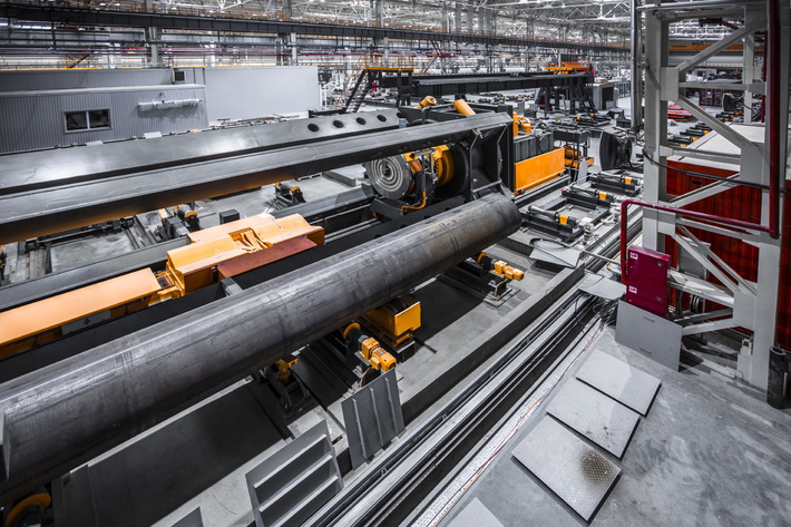 В Московской области открыт трубный завод