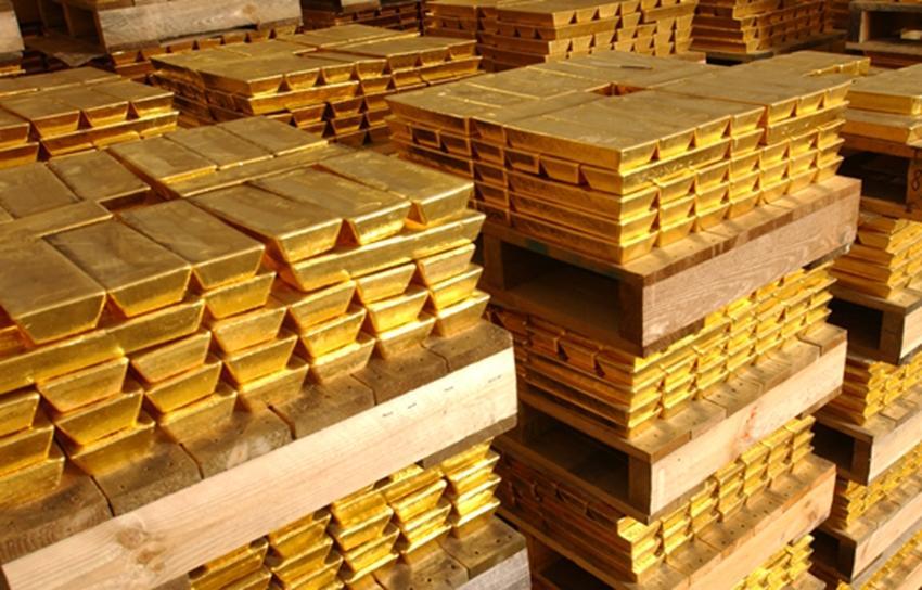 В России производство золота выросло на 18,4%