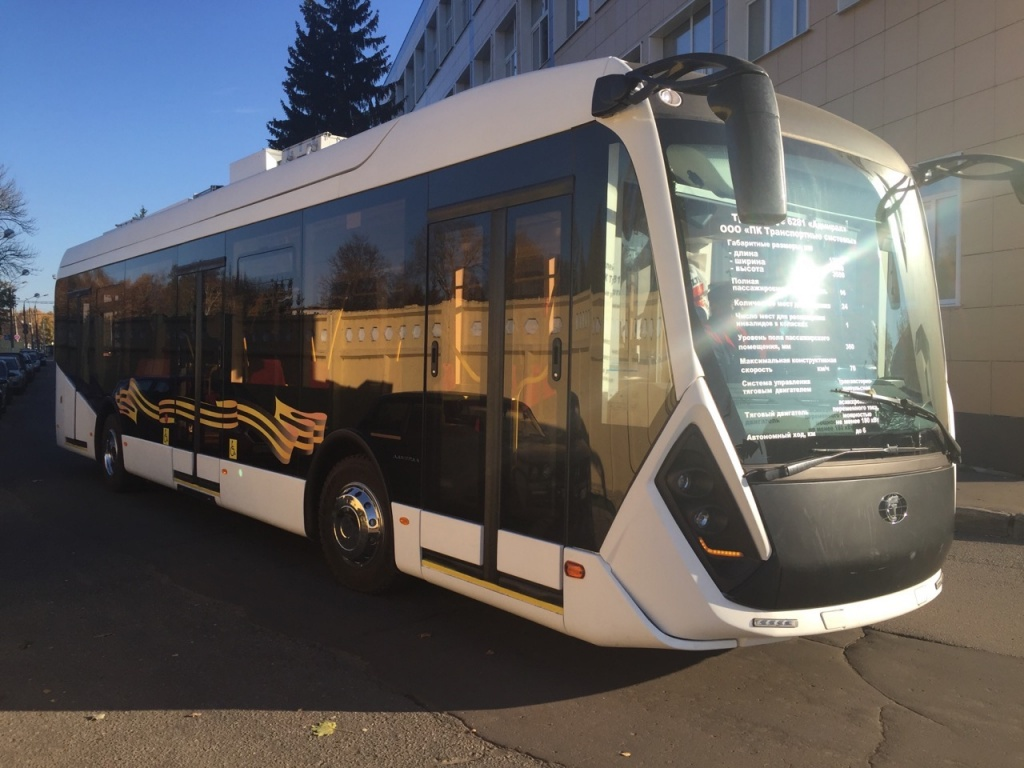 В Ростове появится новый троллейбус 6281 «Адмирал»