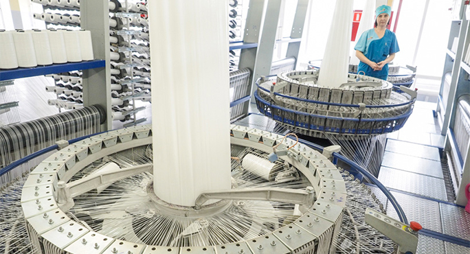 В Ставропольском крае запущена новая производственная линия для выпуска изделий из полипропилена