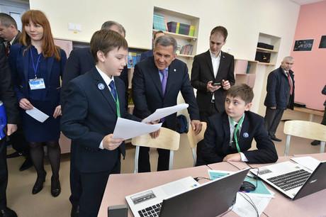 В Татарстане открыт центр молодёжного инновационного творчества