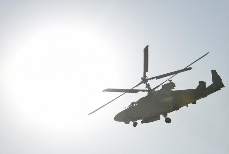 Вертолеты Ка-52 впервые нанесли боевые удары в Сирии