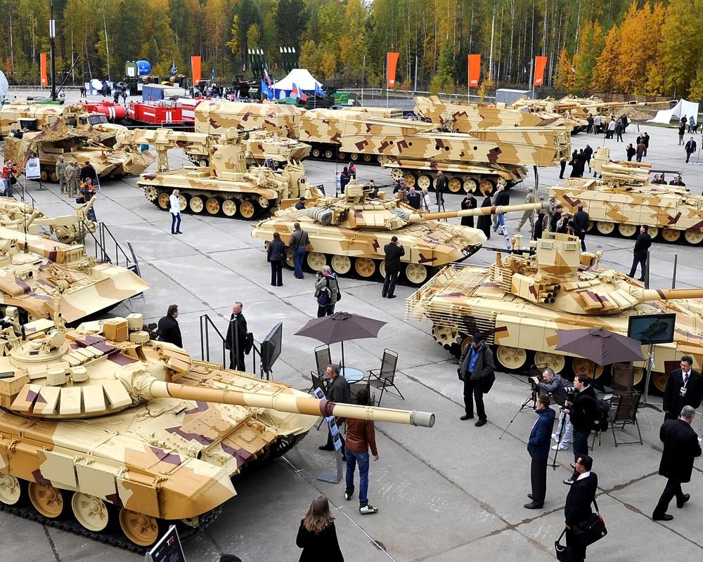 В 2016 году Россия должна получить $14 млрд от продажи военной техники за рубеж