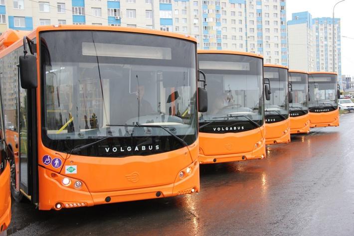 Волгоград получил 72 новых газомоторных автобуса Volgabus