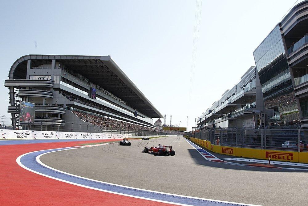 Гран-при Формулы-1 в Сочи за четыре дня посетили 150 тысяч человек