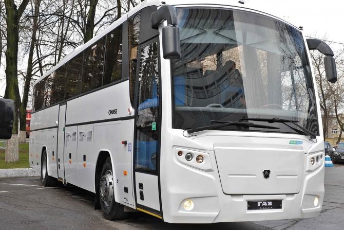 «Группа ГАЗ» выпустила новый газовый автобус стандарта «Евро-6»