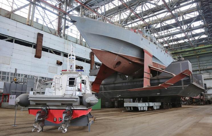 Малый ракетный корабль для ВМФ заложат в Феодосии