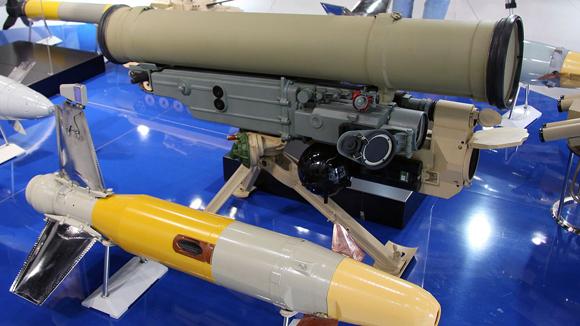 Новая противотанковая ракетная система принята на вооружение