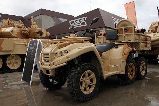 Предприятие Русская механика показало новый армейский мотовездеход РМ 650−2