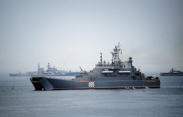 Представители Русского географического общества на кораблях Тихоокеанского флота отправились в экспедицию на остров Матуа