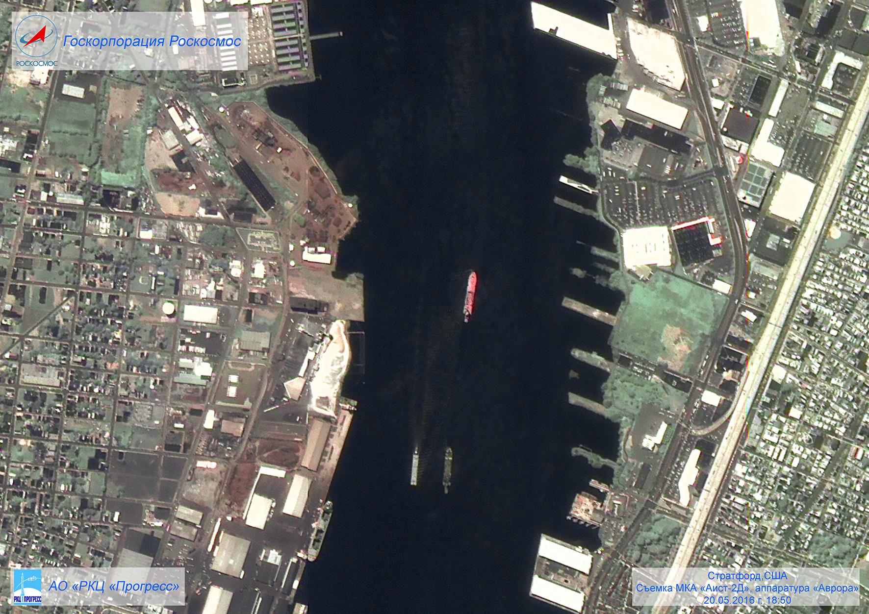 Спутник «АИСТ-2Д» стартовавший с космодрома Восточный передал первые снимки из космоса