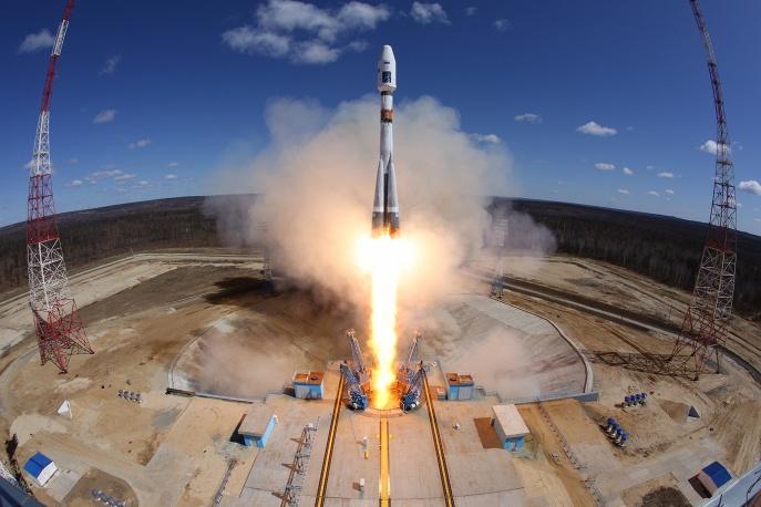 Роскосмос опубликовал видео бортовых камер первого пуска с Восточного