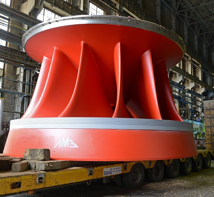 """Предприятие """"Силовые машины"""" отгрузило второй генератор для Чилийской ГЭС «ЛА МИНА»"""