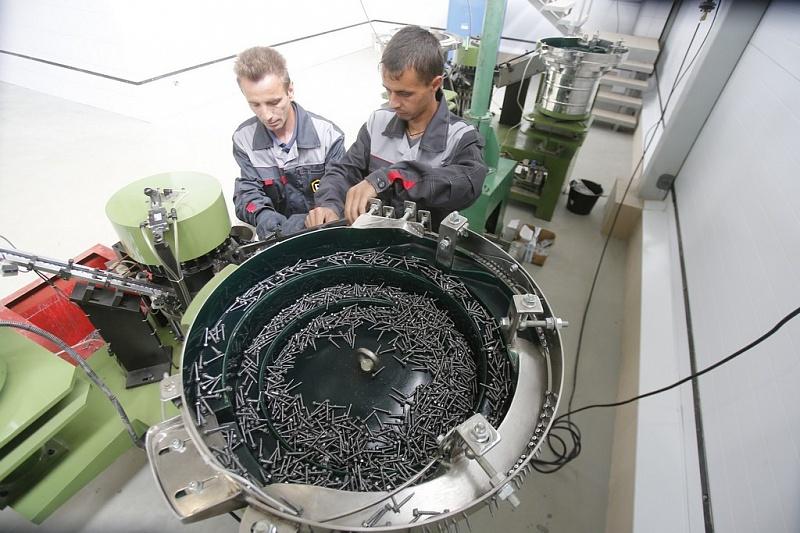 В Краснодарском крае запустилась первая очередь завода по изготовлению крепежных изделий полного цикла