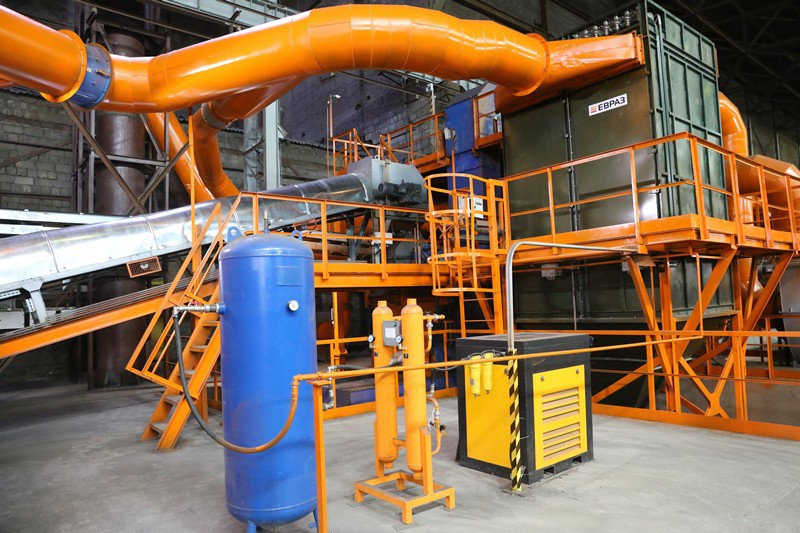 В Сведловской области открылось новое уникальное для России производство — комплекс помола ванадиевого шлака