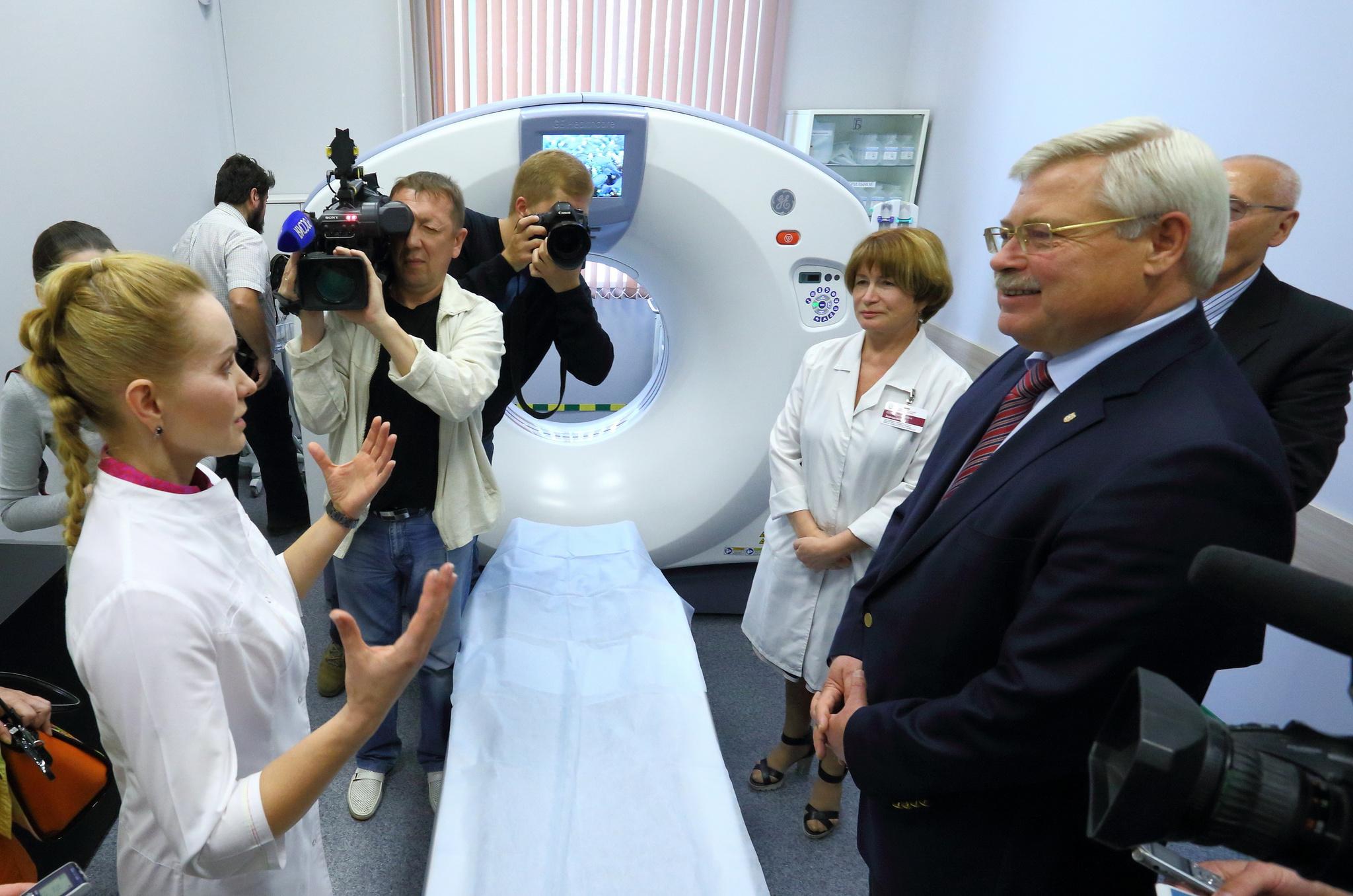 Самый современный компьютерный томограф в регионе начал работать в Томске